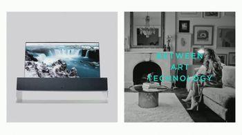 LG Signature TV Spot, 'Embraces Art & Technology' Featuring Lewis Hamilton, Olivia Palermo - Thumbnail 5