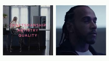 LG Signature TV Spot, 'Embraces Art & Technology' Featuring Lewis Hamilton, Olivia Palermo - Thumbnail 7