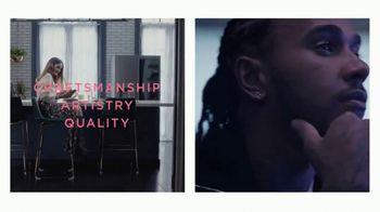LG Signature TV Spot, 'Embraces Art & Technology' Featuring Lewis Hamilton, Olivia Palermo - Thumbnail 8