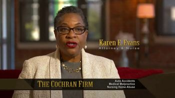 The Cochran Law Firm TV Spot, 'Nursing Home: The Right Lawyers' - Thumbnail 2