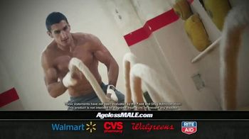 Ageless Male Max TV Spot, 'Get What You Want: Boosting Testosterone at the Source'