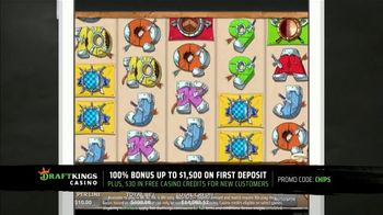 DraftKings Casino TV Spot, 'There's So Much More: $30 Free Casino Credits'