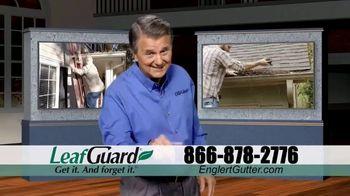 Englert LeafGuard TV Spot, 'Eliminate Climbing the Ladder: $99 Install'