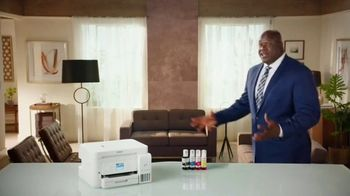 Epson EcoTank Printer TV Spot, 'Cartridge Conniptions: Permission Slip' Featuring Shaquille O'Neal - Thumbnail 6