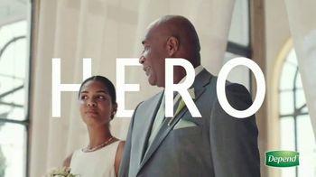 Depend TV Spot, 'Hero' - Thumbnail 2