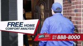 ARS Rescue Rooter TV Spot, 'Don't Compromise: Free Home Comfort Analysis, Free A/C Service Call' - Thumbnail 4