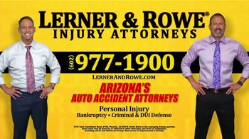 Lerner and Rowe Injury Attorneys TV Spot, 'Arizona Has Spoken: Best Personal Injury Law Firm' - Thumbnail 7
