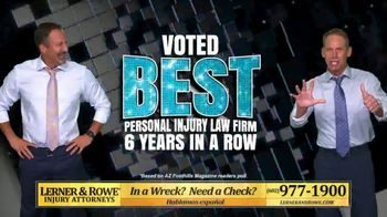 Lerner and Rowe Injury Attorneys TV Spot, 'Arizona Has Spoken: Best Personal Injury Law Firm' - Thumbnail 3