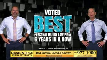 Lerner and Rowe Injury Attorneys TV Spot, 'Arizona Has Spoken: Best Personal Injury Law Firm' - Thumbnail 4