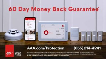 AAA Smart Home TV Spot, 'Home Protection You Can Truly Count On: $17 per Month + Free Indoor Camera' - Thumbnail 10
