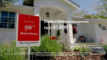 AAA Smart Home TV Spot, 'Home Protection You Can Truly Count On: $17 per Month + Free Indoor Camera' - Thumbnail 4