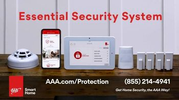 AAA Smart Home TV Spot, 'Home Protection You Can Truly Count On: $17 per Month + Free Indoor Camera' - Thumbnail 5