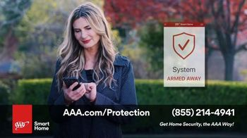 AAA Smart Home TV Spot, 'Home Protection You Can Truly Count On: $17 per Month + Free Indoor Camera' - Thumbnail 7