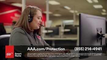 AAA Smart Home TV Spot, 'Home Protection You Can Truly Count On: $17 per Month + Free Indoor Camera' - Thumbnail 8