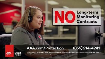AAA Smart Home TV Spot, 'Home Protection You Can Truly Count On: $17 per Month + Free Indoor Camera' - Thumbnail 9