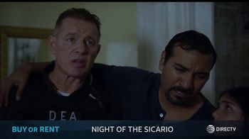 DIRECTV Cinema TV Spot, 'Night of the Sicario' - 30 commercial airings