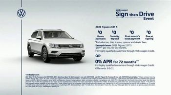 Volkswagen Sign Then Drive Event TV Spot, 'Usual Suspects' [T2] - Thumbnail 9