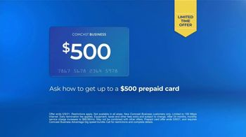 Comcast Business TV Spot, 'Ways of Working: $69.99 and $500 Prepaid Card' - Thumbnail 8