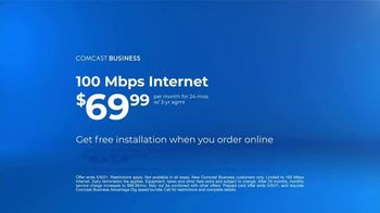 Comcast Business TV Spot, 'Ways of Working: $69.99 and $500 Prepaid Card' - Thumbnail 7