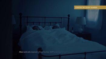 Sleep Number TV Spot, 'People Who Depend on Sleep: Alison and Julio' - Thumbnail 2