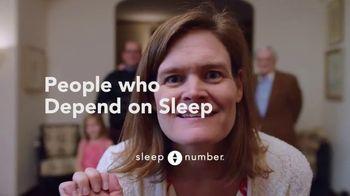 Sleep Number TV Spot, 'People Who Depend on Sleep: Alison and Julio' - Thumbnail 9