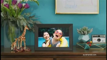Aura Frames Mother's Day Sale TV Spot, 'Gift Memories Every Day: $100 Off'