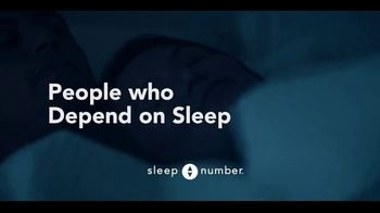 Sleep Number TV Spot, 'People Who Depend on Sleep: Dave and Mary' - Thumbnail 9