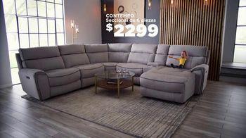 Bob's Discount Furniture TV Spot, 'Seccional eléctrico' [Spanish] - Thumbnail 8