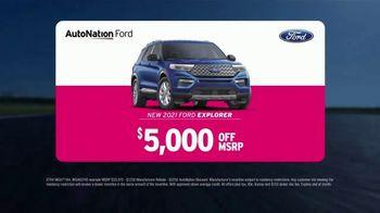 AutoNation Ford TV Spot, 'Go Time: 2021 Explorer'