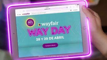 Wayfair Way Day TV Spot, '$50 dólares de descuento' [Spanish] - Thumbnail 2