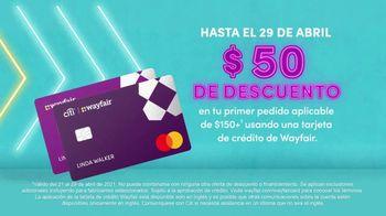 Wayfair Way Day TV Spot, '$50 dólares de descuento' [Spanish] - Thumbnail 6