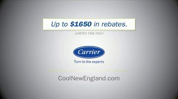 Carrier Corporation TV Spot, 'Happier Times Are Ahead: $1650 in Rebates' - Thumbnail 10