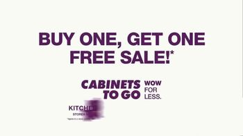 Cabinets To Go Buy One, Get One Free Sale TV Spot, 'Savings in Stock' - Thumbnail 9