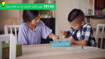 KiwiCo TV Spot, 'So Fun: 30% Off'