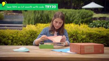 KiwiCo TV Spot, 'So Fun: 30% Off' - Thumbnail 1
