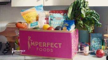 Imperfect Foods TV Spot, 'Stock up on All the Snacks: 20% Off'