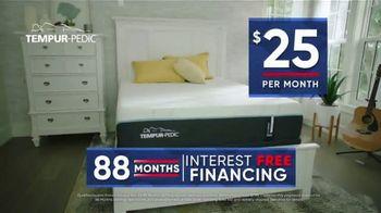 Rooms to Go Storewide Mattress Sale TV Spot, 'Sleep Better and Save Money: Tempur-Pedic' - Thumbnail 4