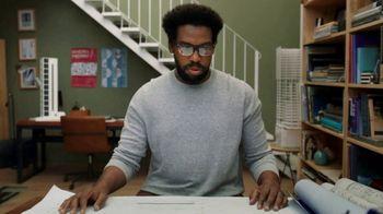 Fitbit Sense + Premium TV Spot, 'Patterns: Sam' Song by Brett - Thumbnail 4