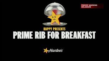 Hardee's TV Spot, 'Prime Rib for Breakfast' - Thumbnail 1