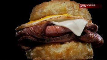 Hardee's TV Spot, 'Prime Rib for Breakfast' - Thumbnail 6