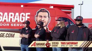 A1 Garage Door Service Hiring Event TV Spot, 'Just Like Home' - Thumbnail 3