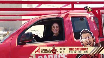 A1 Garage Door Service Hiring Event TV Spot, 'Just Like Home' - Thumbnail 4