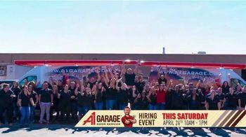 A1 Garage Door Service Hiring Event TV Spot, 'Just Like Home' - Thumbnail 6