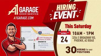 A1 Garage Door Service Hiring Event TV Spot, 'Just Like Home' - Thumbnail 7