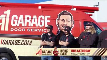 A1 Garage Door Service Hiring Event TV Spot, 'Just Like Home'