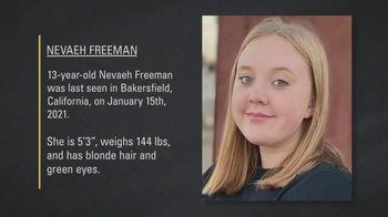 National Center for Missing & Exploited Children TV Spot, 'Nevaeh Freeman' - Thumbnail 7