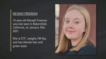 National Center for Missing & Exploited Children TV Spot, 'Nevaeh Freeman' - Thumbnail 8