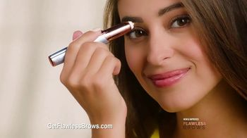 Finishing Touch Flawless Brows TV Spot, 'New and Improved'