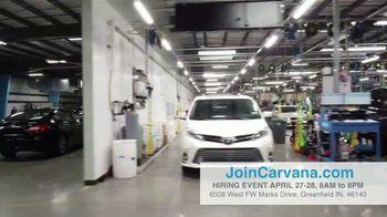 Carvana TV Spot, 'Indianapolis Inspection Center: Now Hiring' - Thumbnail 8