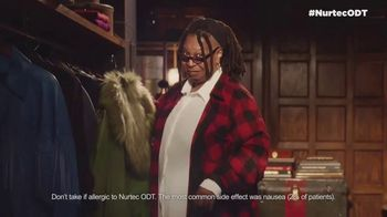 Nurtec TV Spot, 'Do My Thing' Featuring Whoopi Goldberg
